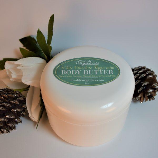 Lovable Organics Body Butter Peppermint