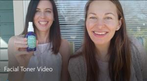 Lovable Organics Facial Toner Demo Video