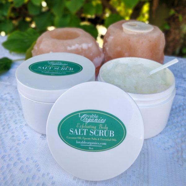Lovable Organics Salt Scrub