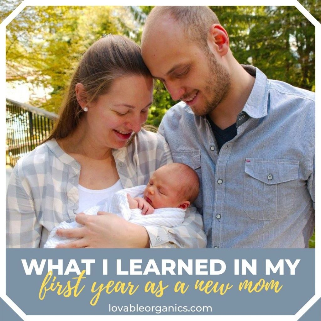 What I learned in my first year as a mom